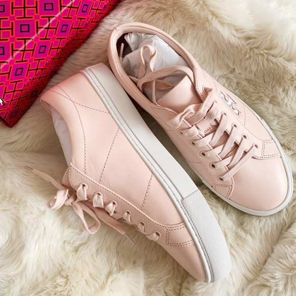 Tory Burch Shoes - Tory Burch Ballet Pink Sneakers